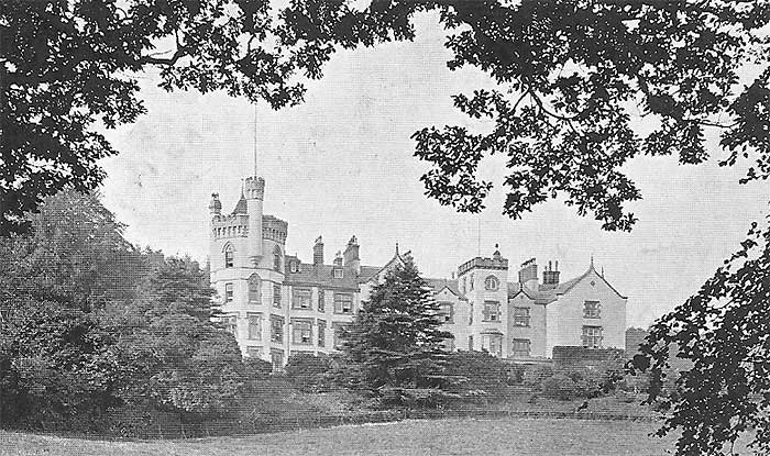 pwllycrochan estate