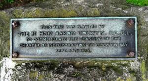 04 Commmorative Tree Plaque