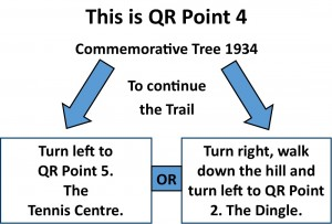 QR Point 04 Commemorative Tree 1934