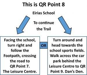 QR Point 08 Eirias School
