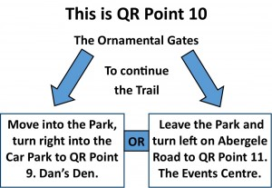 QR Point 10 Ornamental Gates