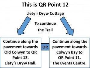 QR Point 12 Lletyr Dryw Cottage
