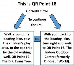 QR Point 18 Gorsedd Circle