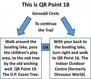 QR Point 18 Gorsedd Circle