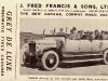 J. Fred Francis, 1921-22.