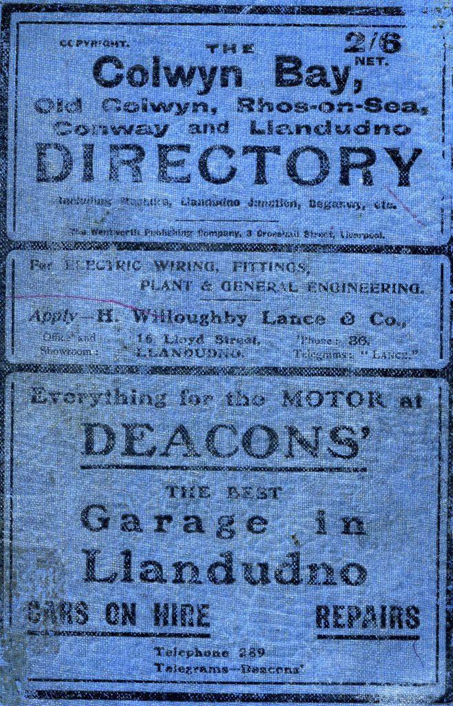 CB Directory 1911