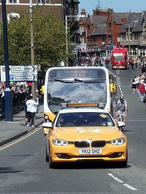 London 2012 Olympic Flame 29-05-2012
