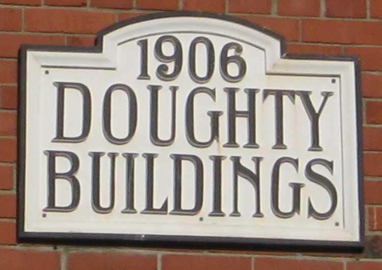 Doughty Buildings, 1906.