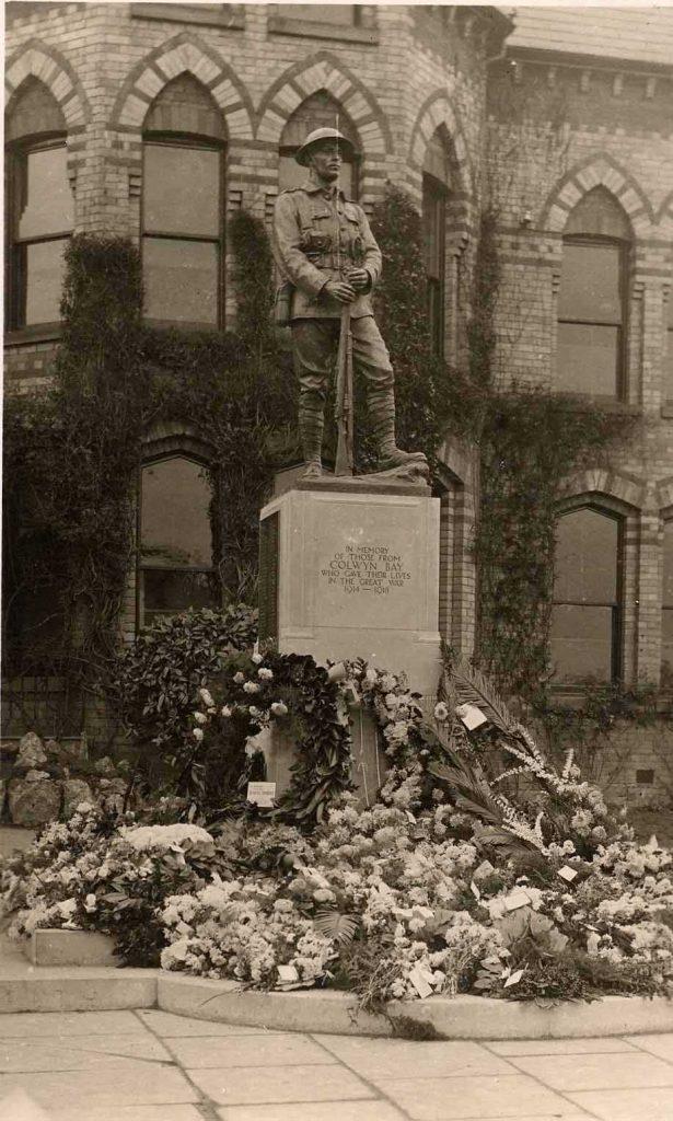 Colwyn Bay War Memorial.