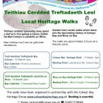 Guided Heritage Walks during March